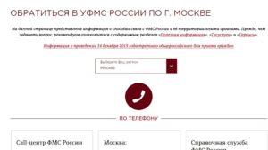 Уфмс единая справочная служба телефон москва