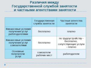 Отличия между государственными служащими сотрудниками и работниками
