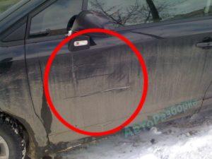 Мою машину ударили во дворе и уехали что делать