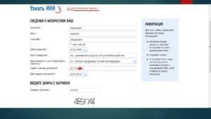 Как узнать по инн паспортные данные физического лица