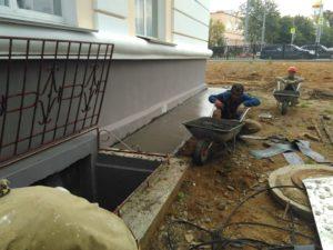 Ремонт фундамента многоквартирного дома при капремонте