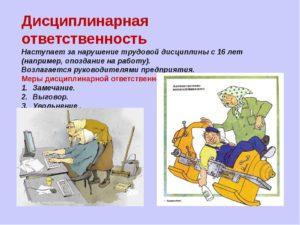 Как можно наказать работника за нарушение трудовой дисциплины