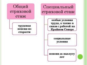 Отличия общего трудового стажа от страхового стажа