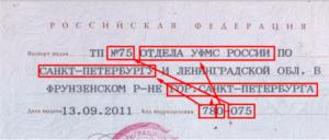 Оуфмс м о красногорского района код подразделения