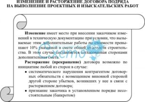 Приостановка работ в связи с погодными условиями по договору подряда