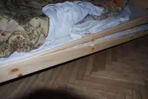 Если сломалась кровать