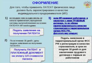 Оформление сотрудников у ип на патенте