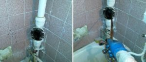 Устранение засора централизованной канализации за чей счет
