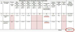 Расчет нмцд форма образец заполнения 223 фз