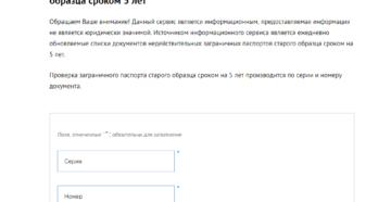 Как проверить загранпаспорт на выезд из россии по номеру паспорта