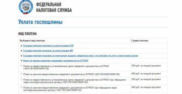 Госпошлина за срочную выписку из егрюл в москве реквизиты