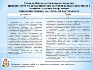 Должностная инструкция специалиста контрольно ревизионного управления