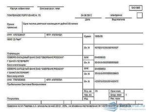 Платежное поручение на перечисление по исполнительному листу за работника кредиту